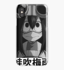 Tsuyu Asui (蛙吹梅雨 ) - My Hero Academia iPhone Case/Skin