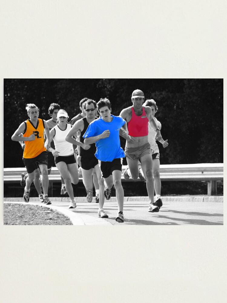 Alternate view of Fun Runners Photographic Print