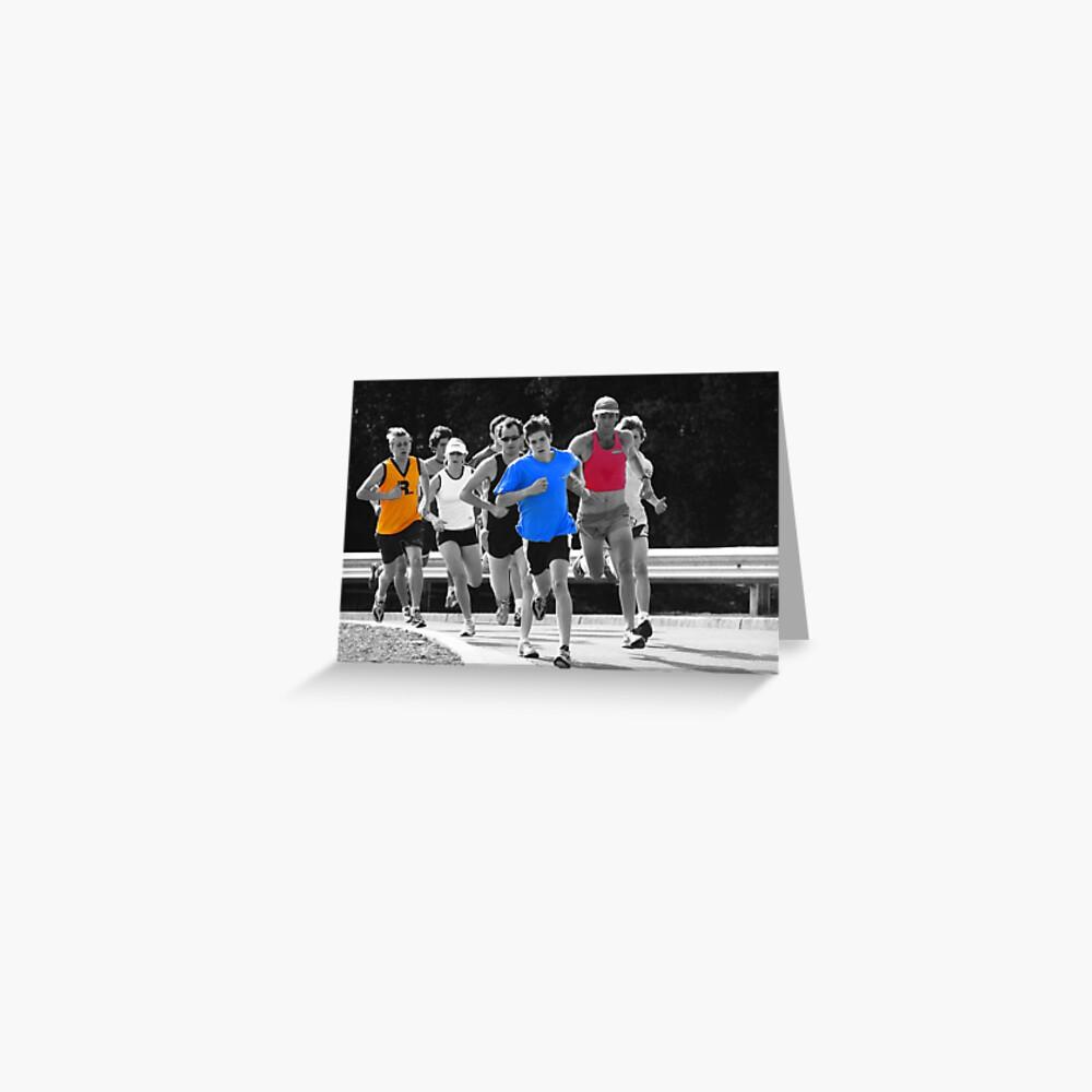 Fun Runners Greeting Card
