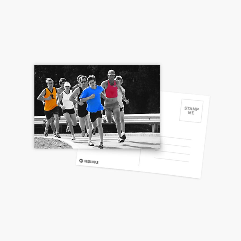 Fun Runners Postcard