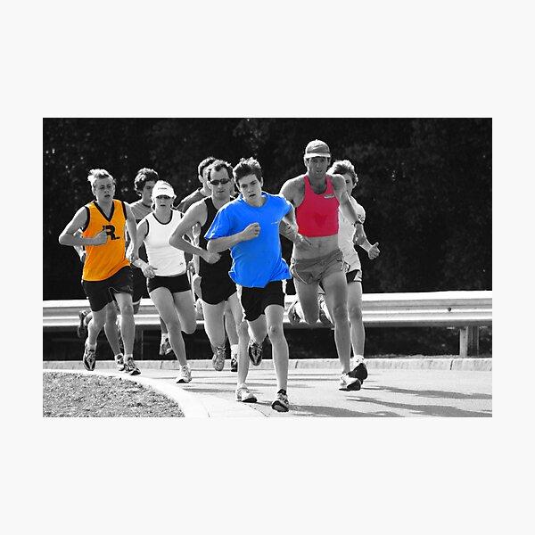 Fun Runners Photographic Print
