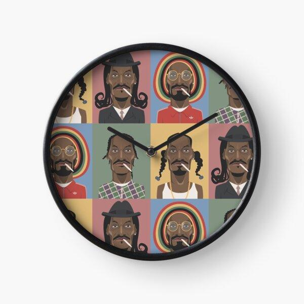 The Evolution of Snoop Dogg Clock