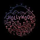 Hollywood at Night - Los Angeles, California by AlexGDavis
