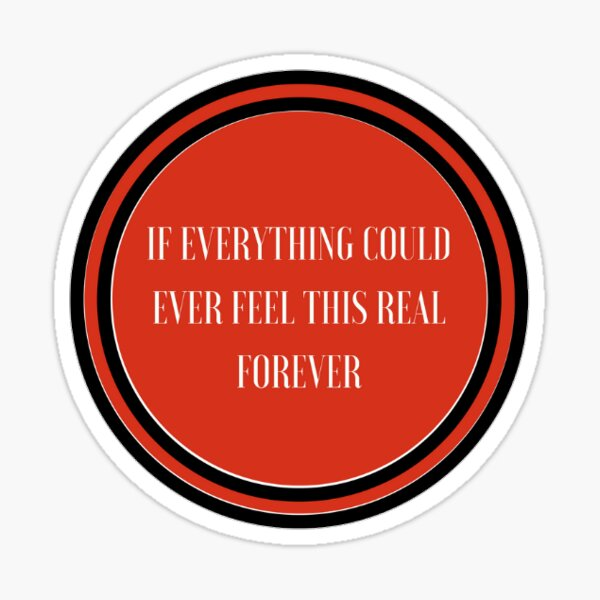 Foo Fighters - Everlong Sticker
