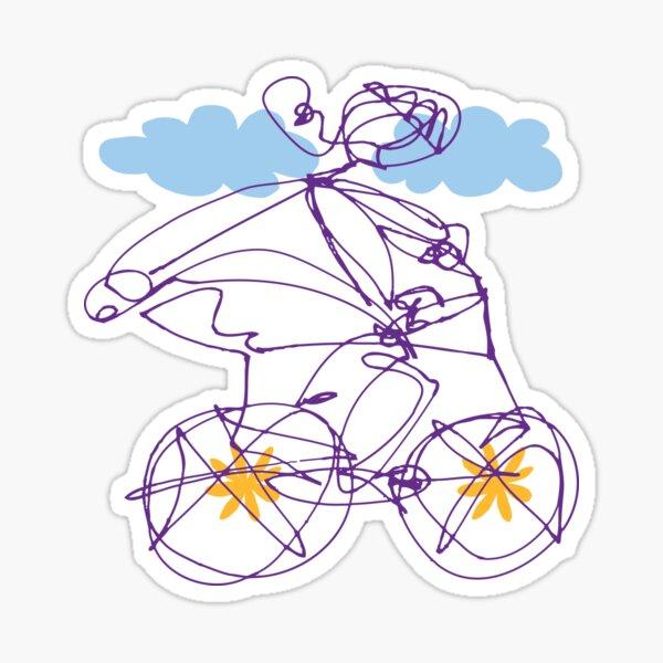 Free Spirit - Bike B Sticker