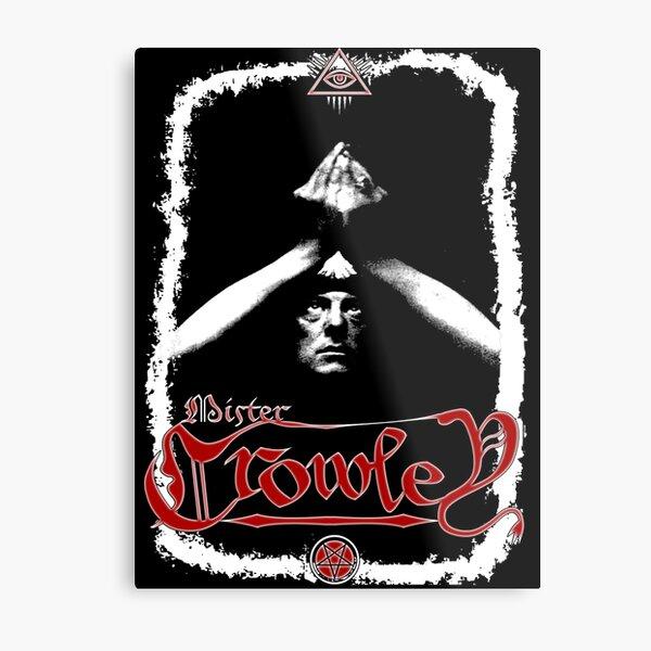 Aleister Crowley The Great Beast Metal Print