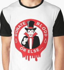 DONATE BLOOD Graphic T-Shirt