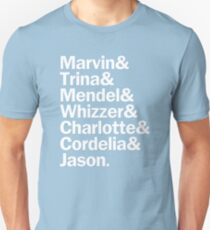 All Falsettos Characters | White T-Shirt
