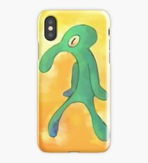 Bold and Brash, Painting by Squidward iPhone Case/Skin