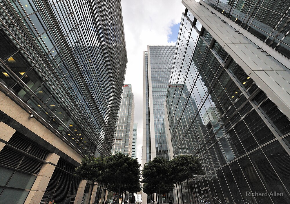 Canary Wharf Office Towers by Lea Valley Photographic