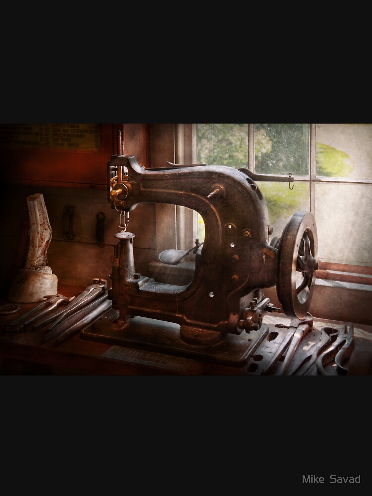 Sewing Machine - Leather - Saddle Sewer by mikesavad