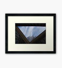 Sky_spiders Framed Print