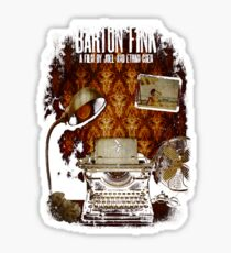Coen Brothers Classic Film Barton Fink Sticker