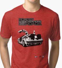Delorean Vector Tri-blend T-Shirt