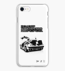 Delorean Vector iPhone Case/Skin