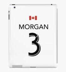Lindsey Morgan Fußball / Fußballtrikot (für Wohltätigkeit) iPad-Hülle & Klebefolie
