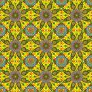Abstract Flower Pattern AAA RRR by Vitta