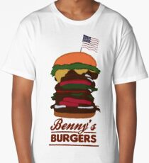 Benny's Burgers Long T-Shirt