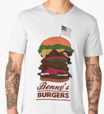 Benny's Burgers Men's Premium T-Shirt