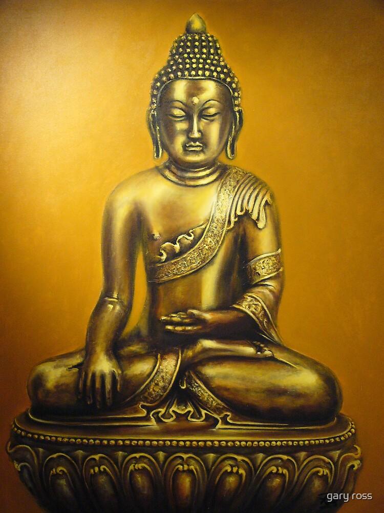 Golden Buddha by gary ross