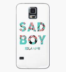 Traurige Jungs Hülle & Klebefolie für Samsung Galaxy