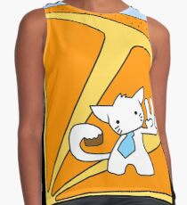 Louise's Cool Cat Contrast Tank