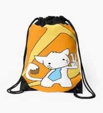 Louise's Cool Cat Drawstring Bag