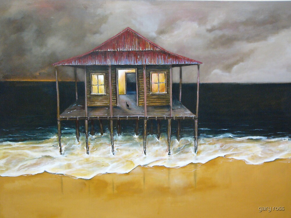 Beach Shack by gary ross