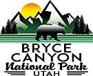 BRYCE CANYON NATIONAL PARK UTAH BEAR by MyHandmadeSigns