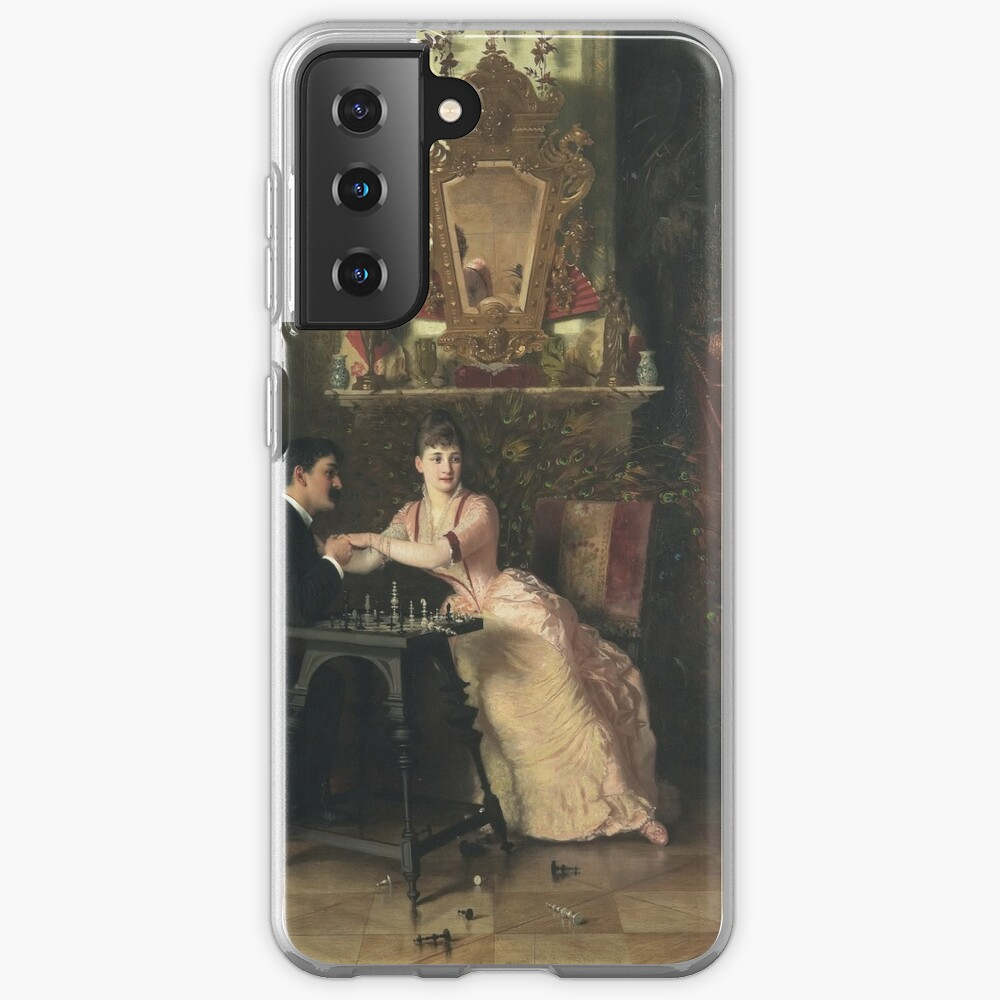 The Proposal Oil Painting by Knut Ekwall  Case & Skin for Samsung Galaxy