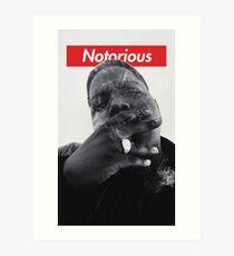 Notorious B.I.G. - Biggie Smalls Art Print
