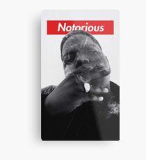 Notorious B.I.G. - Biggie Smalls Metal Print