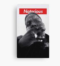 Notorious B.I.G. - Biggie Smalls Canvas Print