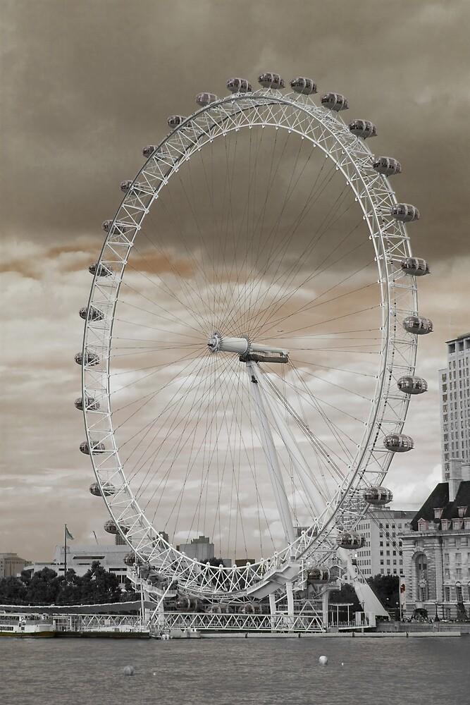 London Eye by Anders Hollenbo