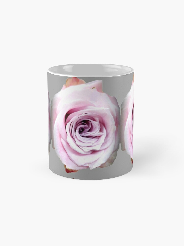 Alternate view of Faith rose simply  Mug
