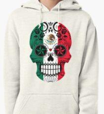 Mexican Skull Heart Art TatooMan Calavera el dia de los muertos Pullover Hoodie