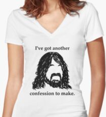 I've Got Another Confession to Make Women's Fitted V-Neck T-Shirt