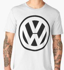 VW WITH BLACK Men's Premium T-Shirt