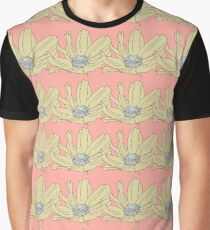 Anemone Lone Pale Pink Graphic T-Shirt