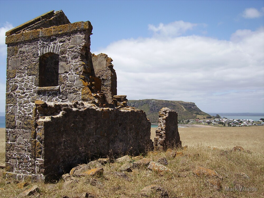 Ruins near Stanley by Mark Whittle