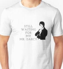 Waiting for Mr. Darcy Unisex T-Shirt
