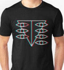 Neon Genesis Evangelion Psicodelic Rei Ayanami T-Shirt