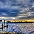 Brooding Sunset by Nancy Richard