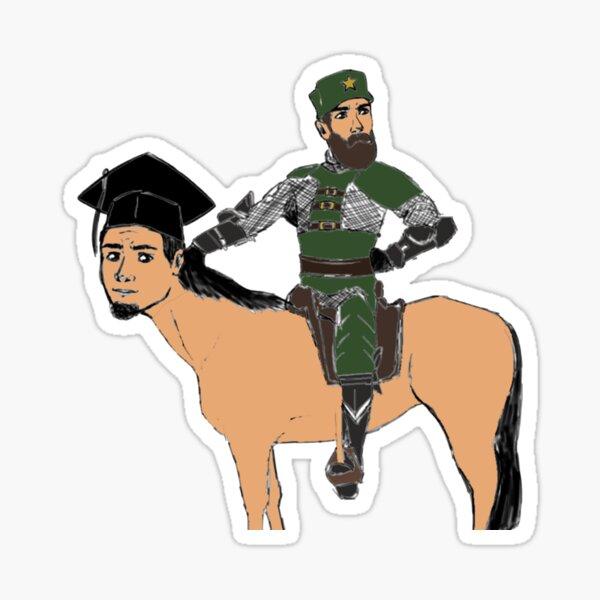 Flesh Horse V1 Sticker