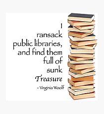 Ransack Libraries Photographic Print