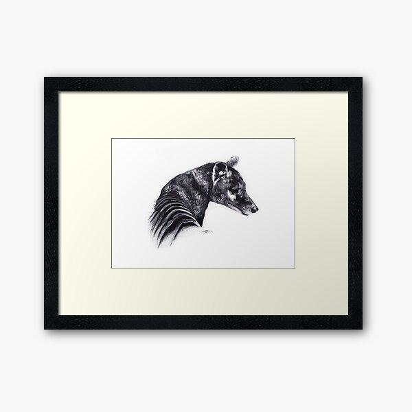 Corinna Thylacine Framed Art Print