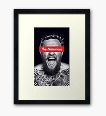 The Notorious Conor McGregor Framed Print