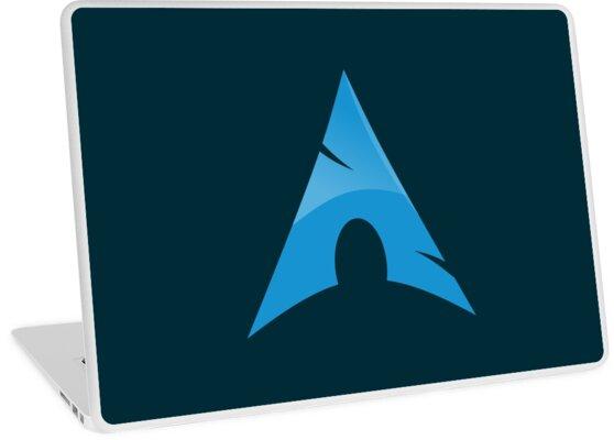 'Arch Linux' Laptop Skin by Elizabeth Bathory