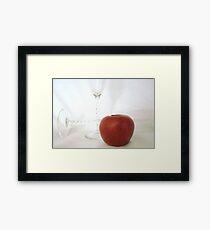 APPLE   ^ Framed Print