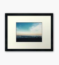 The Morning Horizon Framed Print